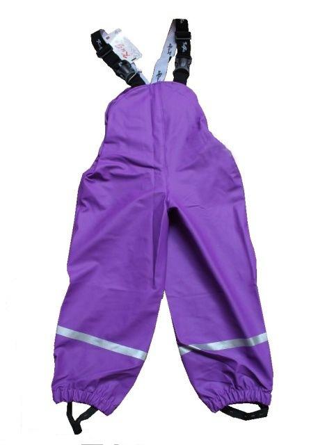Termo kalhoty do deště - fialové