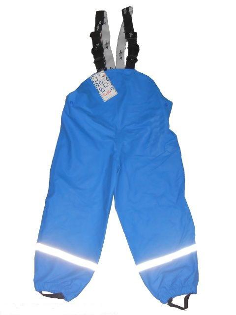 Termo kalhoty do deště - světle modré