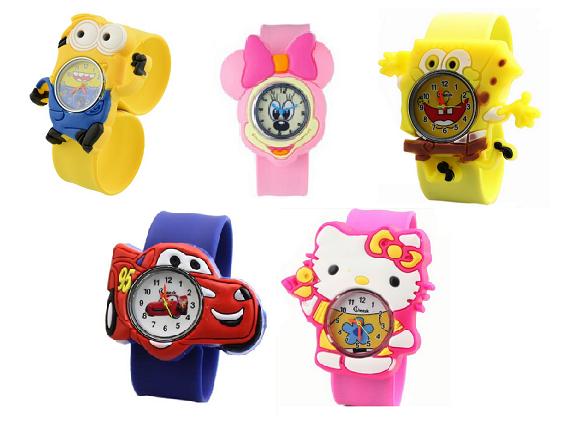 Silikonové slap hodinky